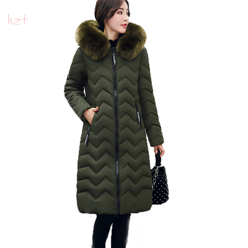 winter jacket women 2017 fashion slim long cotton-padded Hooded parka female wadded jacket outerwear winter coat women big fur bishe 2017 fashion winter jacket women slim long cotton padded hooded jacket parka female wadded jacket outerwear winter coat
