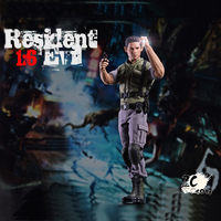 Action Figure From Resident Evil 2 Remake Game Chris Redfield Scott Kennedy Model Collectible Anime Leon kennedy Figures Toy