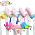 Baby Toys Stroller Bed Cot Hanging Soft Pink Bird Animal Crib Mobile Plush Education Rattles Toy For Newborns Babies 0-12 Months