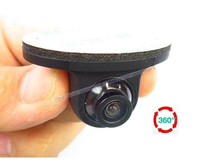 360 Degree Rotation Universal CCD HD Night Vision Car font b Camera b font Front Side