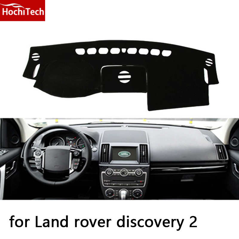 HochiTech for land rover discovery 2 13-15 dashboard mat Protective pad Shade Cushion Photophobism Pad car styling accessories жаровня scovo сд 013 discovery