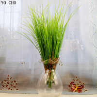 (5 unids/lote) plantas artificiales decoraciones de Navidad para el hogar boda suculentas de plástico falso verde dejar helecho plantas de tacto real