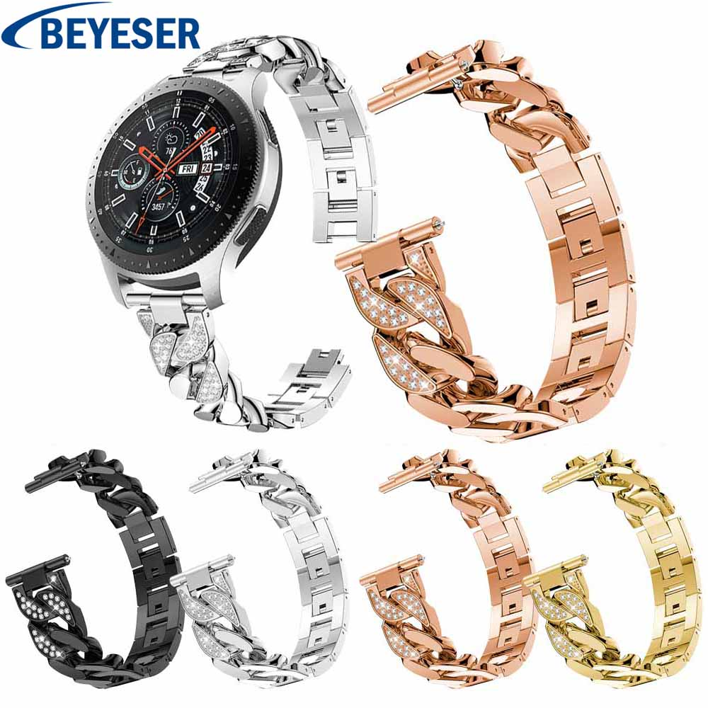 Metal Strap For Samsung Galaxy Watch Active 2 40 44mm  Bracelet Stainless Steel For Samsung Galaxy Watch 46mm Classic Watchband