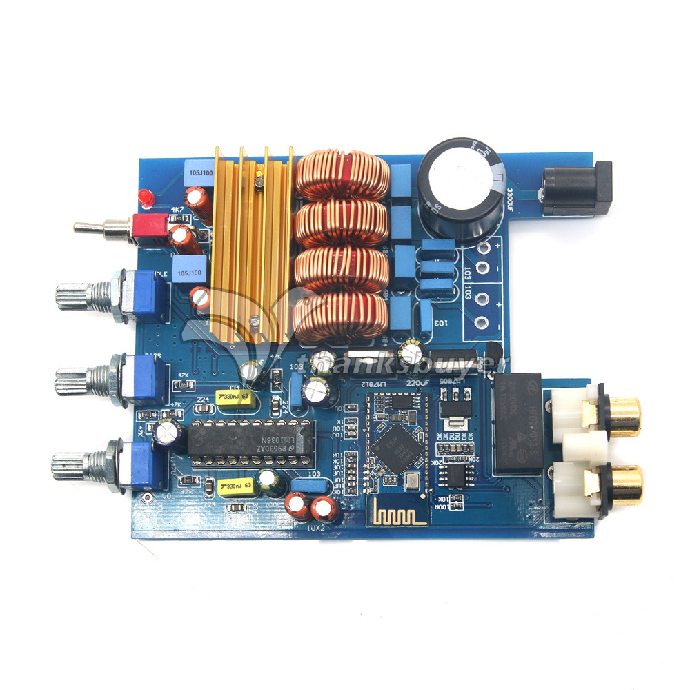 Hifi Bluetooth 40 Digital Amplifier 2x50w Tpa3116 Lm1036 Tone Stereo Class D Audio Power Circuit Board Ebay Dc18v 24v 50w Csr40 Treble Bass Adjustment Amp In From Consumer Electronics On