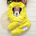 Apresurado Promoción Abrigo de Carácter Regular Completa Vestidos Kids Sport Wear Ropa de Bebé Minnie Set Traje Ropa mode enfant