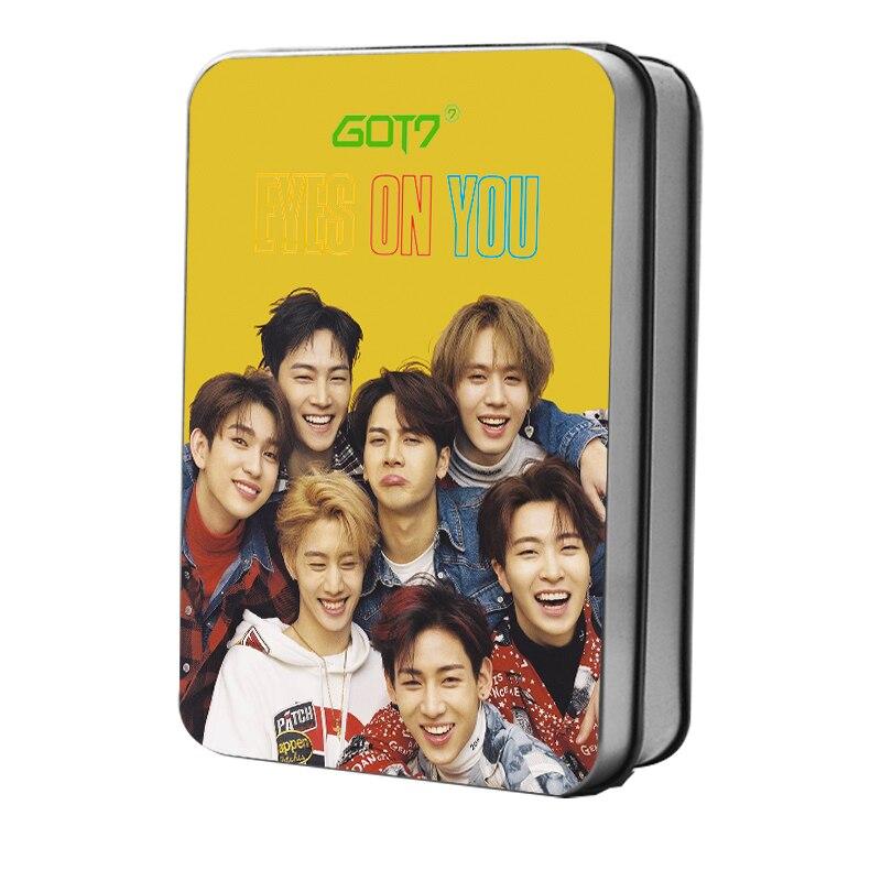 Beads & Jewelry Making Competent Korean Kpop Group Got7 Eyes On You Album Lomo Photo Card Jackson Mark Polaroid Photocard 30pcs/box Fans Presents Colours Are Striking