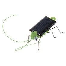 Mach novo gafanhoto movido a energia solar. Apenas coloque no sol e veja as pernas balançando