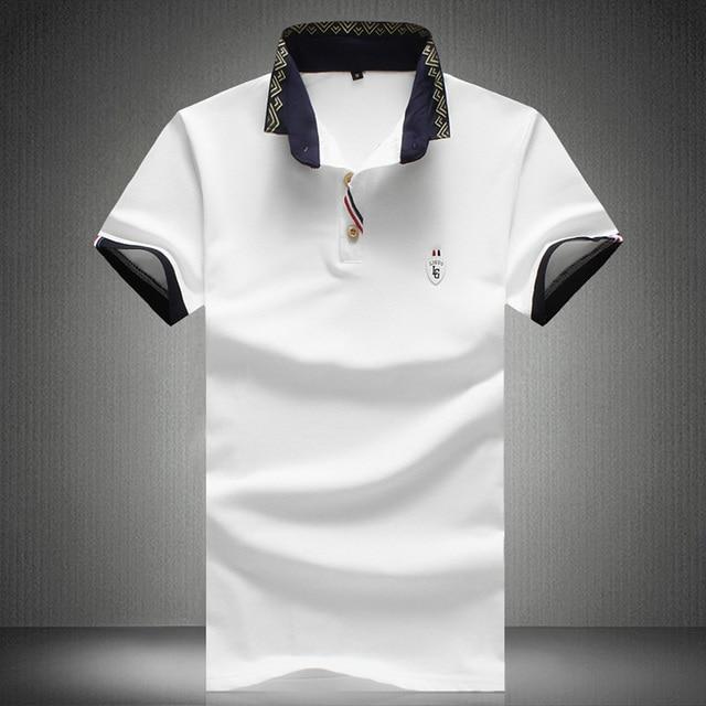 Men Polo Shirts 2016 New Summer Top Quality Camisa Polo 5XL Slim Free Shipping Shirt Polo 5XL Masculina
