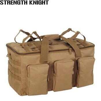 Men's New Military Tactics Backpack Multifunction Waterproof Oxford 1680D Hike Camp Backpacks Wear-resisting Bag