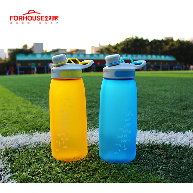 900ml Healthy Silicone Sport Water Bottle Portable Leak Proof Drinking Bottles for Outdoor Travel Cycling Running Drinkware 1