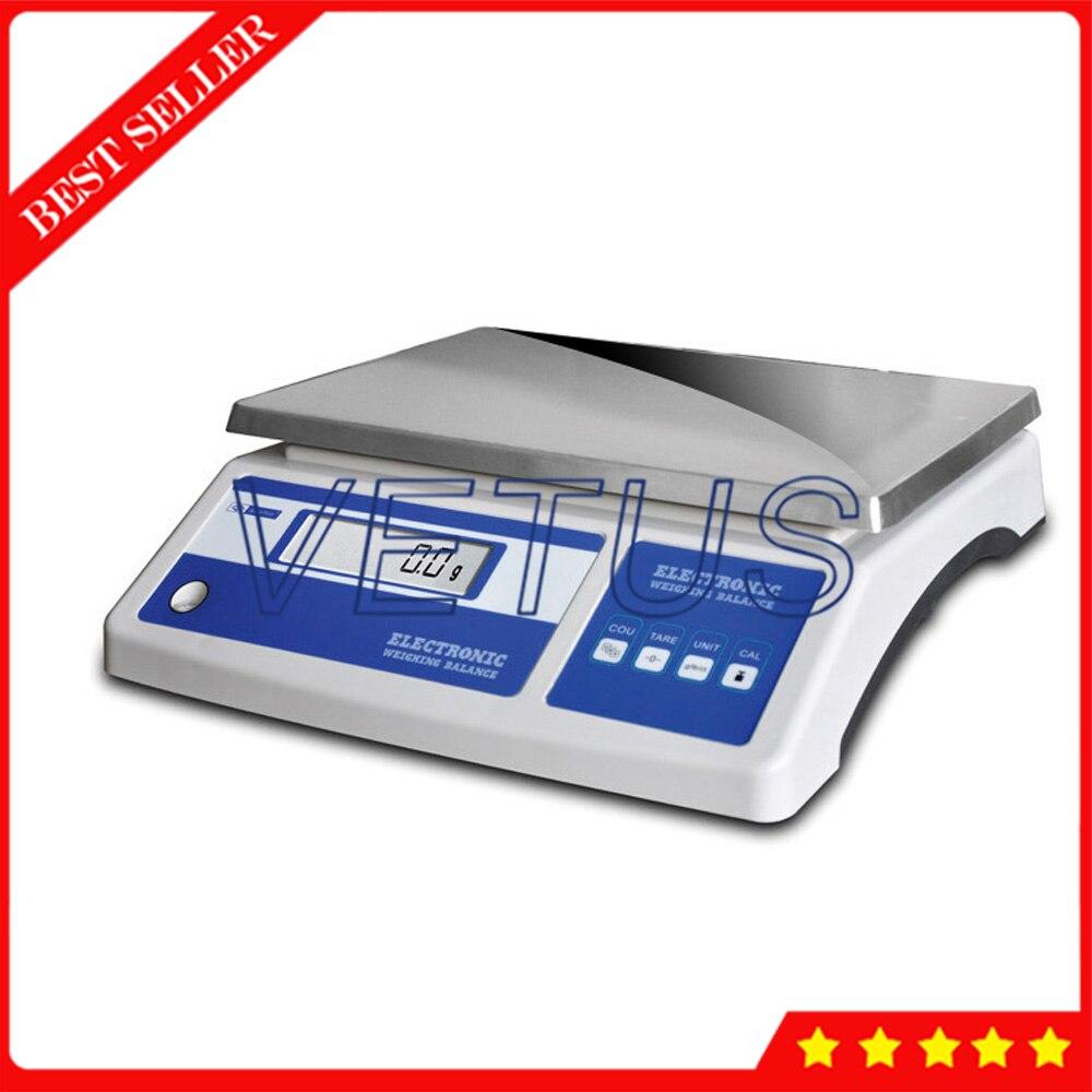 15 МБ ЖК дисплей Электронные Счетные весы с Тарой, функция подсчета электронные весы платформы