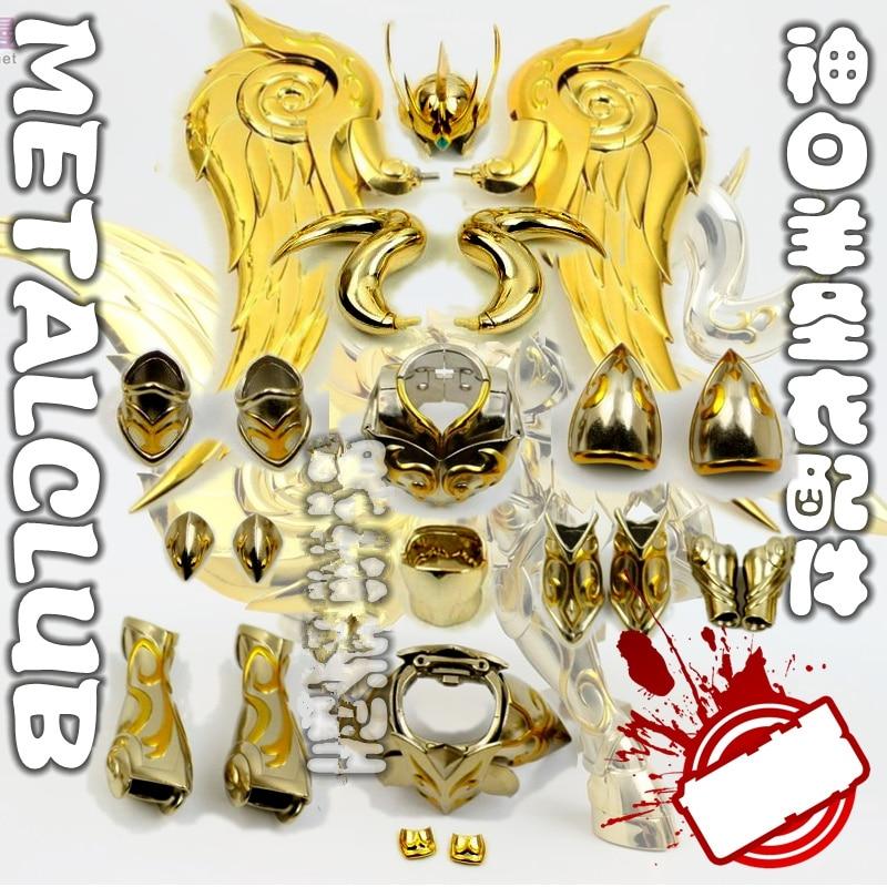 MC Metal Club metal God Cloth kits for Bandai Saint Seiya Cloth Myth EX Gold God