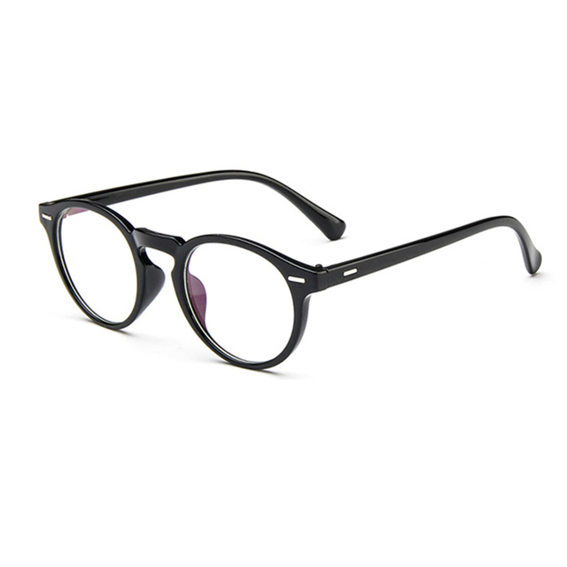 ed1cf13197 Fashion Women Glasses Frame Men Eyeglasses Frame Vintage Round Clear Lens  Glasses Optical Spectacle Frame