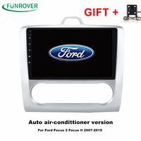 FUNROVER Quad Core 2 Din 9 Android 8 0 Car PC DVD GPS For Ford Focus
