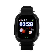 Smart watch baby watch Q90 with Wifi touch screen SOS Call GPS Location DeviceTracker for Kid Safe Anti-Lost Monitor PK Q80 Q60