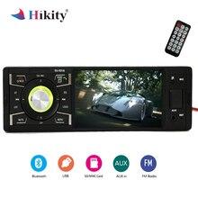 Hikity Autoradio 1 din Car Radio Audio Stereo Multimedia MP5 Player Bluetooth FM Receiver USB AUX