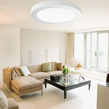 Ultra-thin 6W 12W 18W 24W Round Square Panel LED Aluminum LED Panel Light Surface Mounted Downlight ceiling down lamp