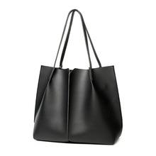Brand Casua Lady Large Tote Bag New Women Leather Handbags Female Pu Shoulder Bags Bolsas Femininas Sac A Main Green Black White цена