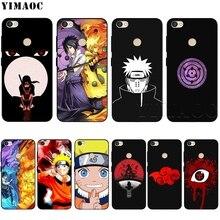YIMAOC Sasuke Naruto Case for Xiaomi Red