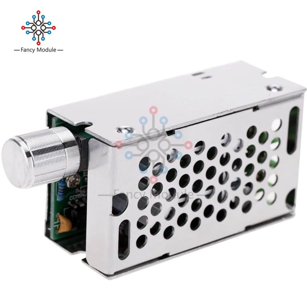 DC Brush PWM Motor Speed Controller Switch Regulator 12V//24V//36V//60V 10A