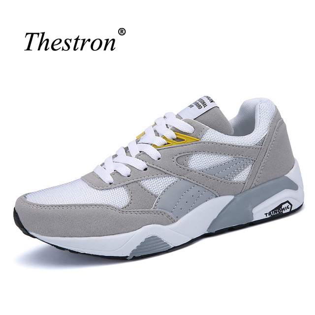 Thestron Running Shoes For Men Comfortable Sport Shoes Men 2016 Cheap Men Gym Sneakers Autumn Men Running Trainers