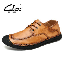 CLAX Man Shoes 2019 Spring Summer Male Casual Shoe Leather Shoe Men's Walking Footwear Handmade Soft Big Size зверев сергей иванович тропическая метель