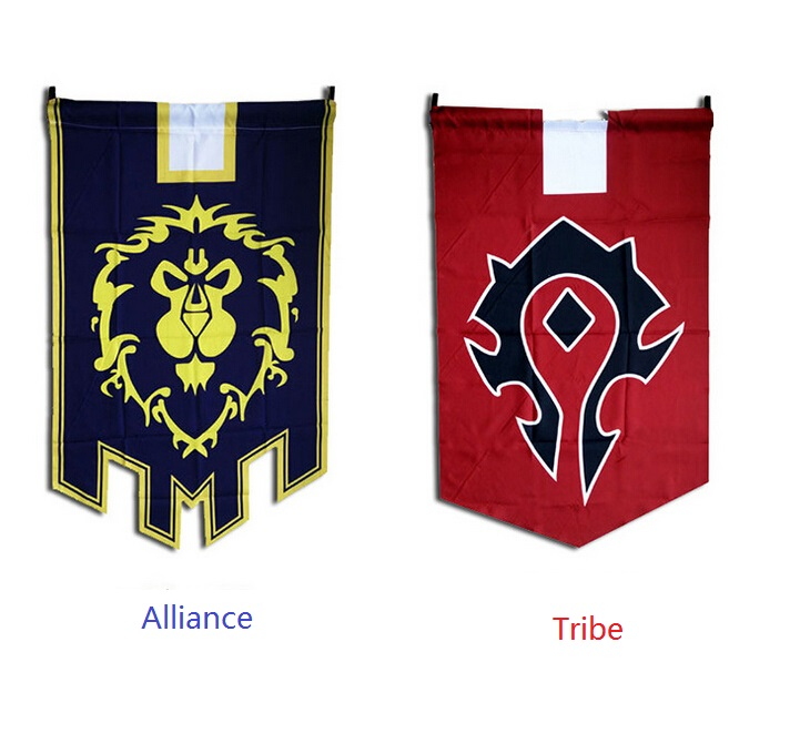New fashion Tribes customized banner cosplay Animation game s