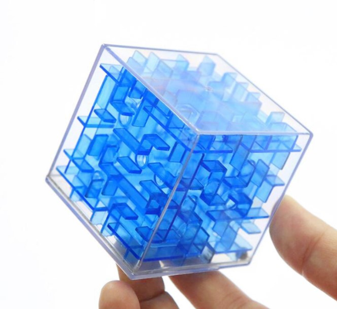 Intellective Fangcun Ghost Cube 3x3x3 Colorful Puzzle Magic Speed Cube Stickerless Professional Special Toy Toys & Hobbies Magic Cubes