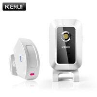 KERUI M7 Bem-vindo Chime Campainha Da Porta sensor de Movimento Sem Fio Da Porta Sensor De Alarme Para A Loja casa Loja