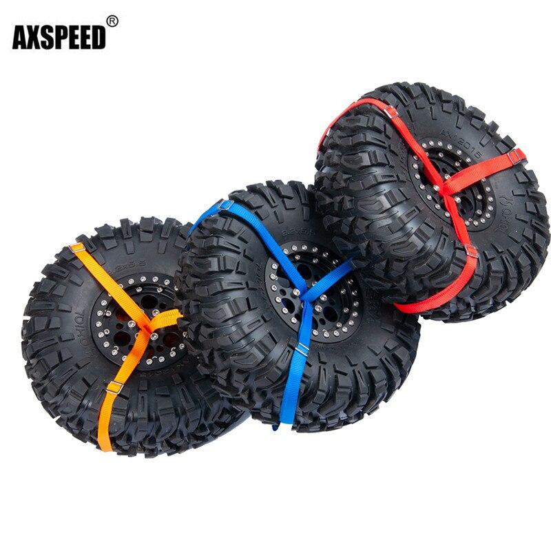 Spare tire straps rope Tire Tie Down Strap Tire Decoration for 1/10 Traxxas TRX-4 UDR RC Car Part цена