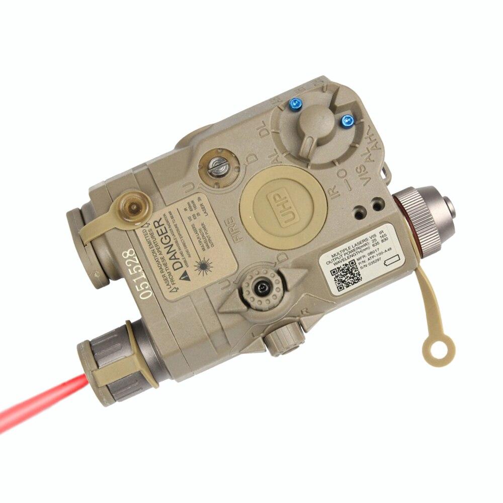 Élément Ex396 La-5 Uhp Batterie Cas Avec Rouge Laser Ir Lentille Led Lampe De Poche De Visant Lumière Batterie Cas Pour La Chasse Tir GuéRir La Toux Et Faciliter L'Expectoration Et Soulager L'Enrouement
