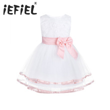 iEFiEL Newborn Toddler Girl Baptism Dress Baby Girls Princes