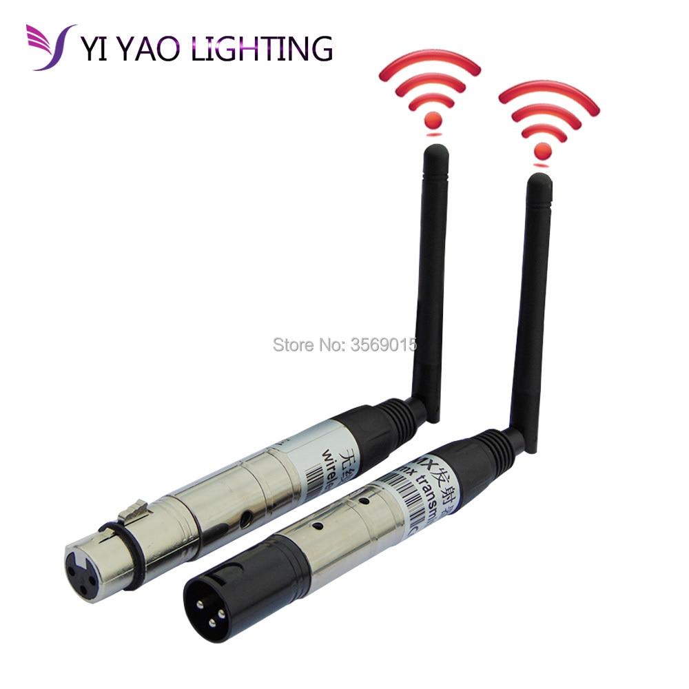 2.4G ISM DMX512 Wireless Female XLR Receiver LED Stage Lighting