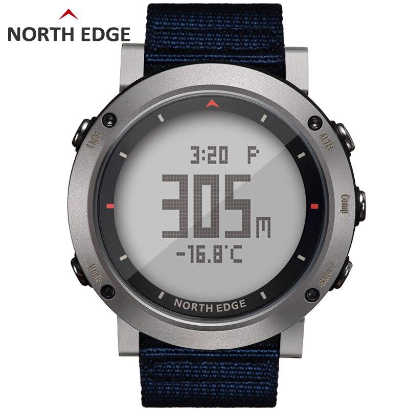 NORD BORD Hommes de sport montre digitale Heures de Course De Natation montre de sport altimètre baromètre Boussole Thermomètre Météo hommes - 2