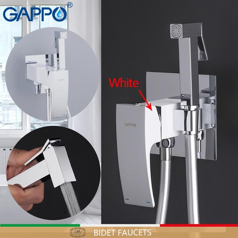 GAPPO Bide Musluklar pirinç tuvalet sprey musluk krom kaplama musluk bide banyo bide duş tuvalet su püskürtme banyo duş