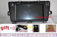 Free Shipping 8 Android 4 4 4 For Toyota Prius Right 2009 2013 Car Dvd Gps