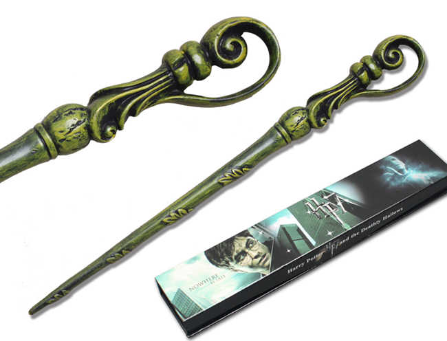 Original Version Quality Metal Core Deluxe COS Albus Dumbledore Magic Wand of Magical Stick with Gift Box Pack of Harry A Potter