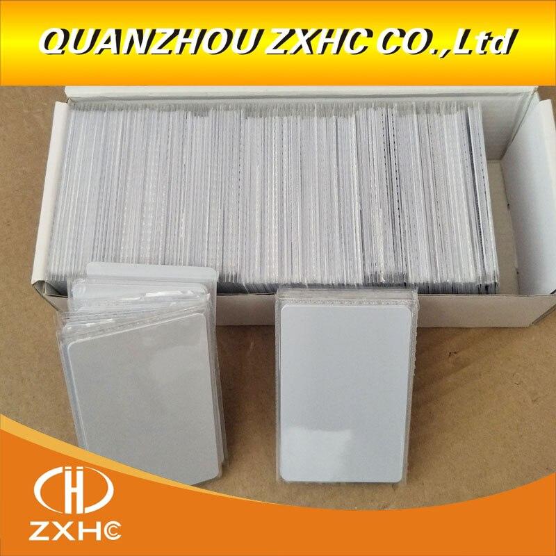(100PCS) Waterproof RFID ISO15693 Icode Slix (Icode-2) White PVC Card