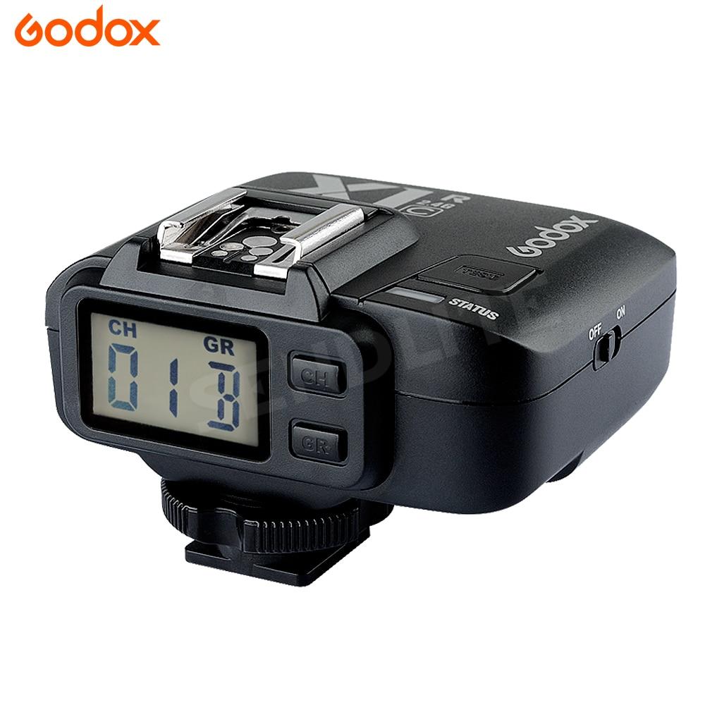 Godox X1R TTL 2.4G Wireless Flash Trigger Receiver for Godox AD360 AD180 Speedlite Flash for Canon Nikon DSLR