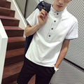 Короткие рукава футболка xxxxxl xxxxl xxxl черный белый Большой размер 3xl 4xl 5xl slim-подходят 2016 лето свободного покроя