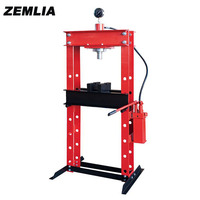 30 Ton Press With Gague Double column Gantry Hand, Pneumatic Table With Hydraulic Presses From China