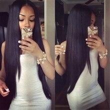 Beyo Hair Products Brazilian Virgin Hair Straight 7A Brazilian Straight Hair Extension Mink Brazilian Human Hair Weave Very Soft