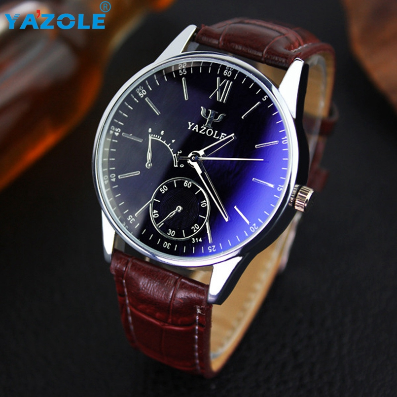 YAZOLE Wrist Watch Men Famous Wristwatch Male Clock Quartz Watch Hodinky Quartz-watch Relogio Masculino s19