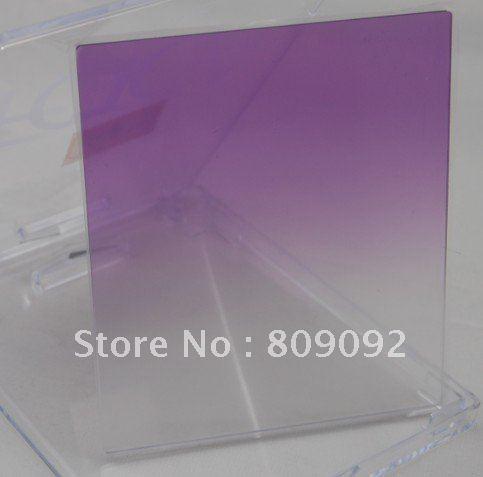 01fcb9fb29789 ∞Roxo Gradual Cor Da Lente Filtro para Cokin P Series - a445