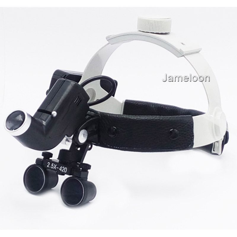 2.5X magnification strong lamp high brightness headlamp dental operation dentistry magnifier with headlight surgical led light2.5X magnification strong lamp high brightness headlamp dental operation dentistry magnifier with headlight surgical led light