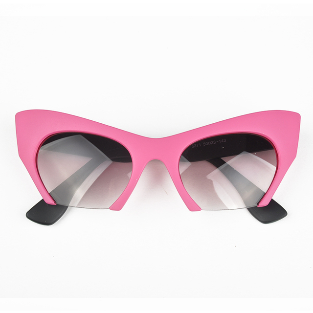 ea750855ccea 2017 Fashion Design 2015 New Summer Style Sexy Cat Eye Women Sunglasses  Elegant Women s Glasses Half