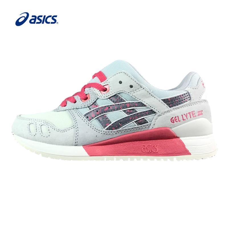 ASICS Orginal GEL-LYTE III Running Shoes Respirável Tênis Esporte Ao Ar  Livre Clássico Sapatos 9a6c998bfb
