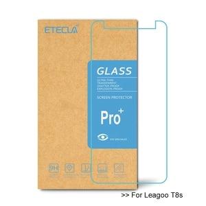Image 1 - 2 uds para Leagoo T8s vidrio templado Leagoo T8s vidrio para Leagoo T8s Protector de pantalla HD 0,33mm vidrio Protector