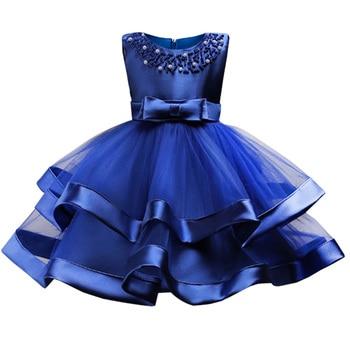 75b45c1815d Los niños de verano vestido de princesa para las niñas niños vestidos fiesta  bola concurso vestido