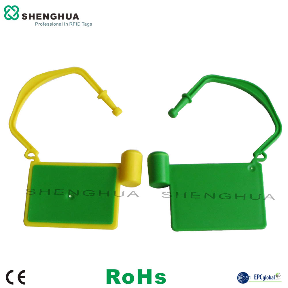 10pcs/pack High Quality UHF 860-960MHZ Zip Cable Tie Tag For RFID Safety Seal Locking Container High Quality Tracking Label
